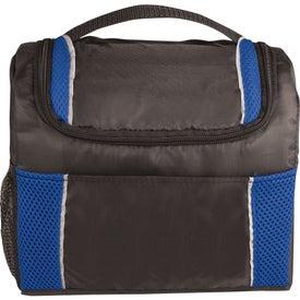 Monogrammed Peak Lunch Cooler Bag