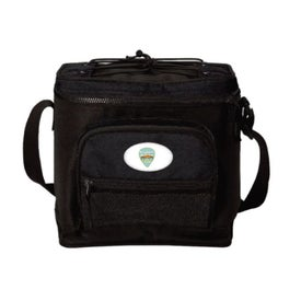 PEVA Lined 12 Can Coolers (Black)
