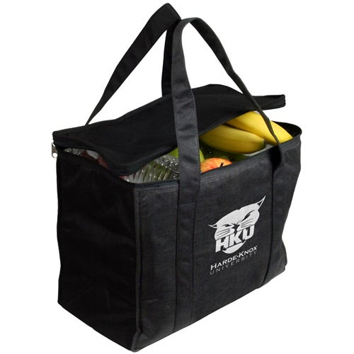 Black Picnic Recycled P.E.T. Cooler Bag