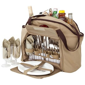 Picnic Set and Cooler Tote for Your Company