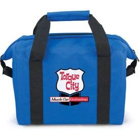 Advertising Pocket Kooler Bag 12 Pack