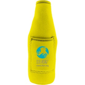 Pocket Stubby Bottle Cooler Branded with Your Logo