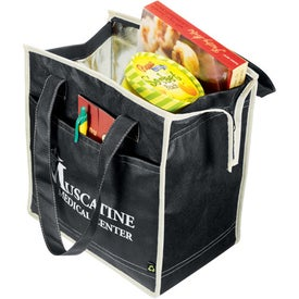 Promotional PolyPro Non-Woven Diamond Insulated Tote