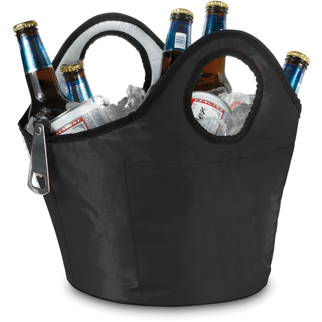 Portable Ice Bucket Beverage Carrier Promotional Coolers