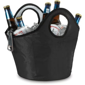 Portable Ice Bucket Beverage Carrier Printed with Your Logo