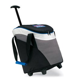 Quest Wheeled Cooler with Your Logo