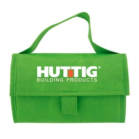 Recycled Non Woven Lunch Cooler Imprinted with Your Logo