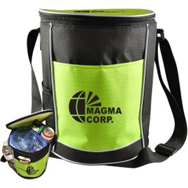 Personalized Round Cooler Bag