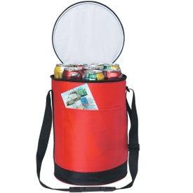 Monogrammed Round Kooler Bag