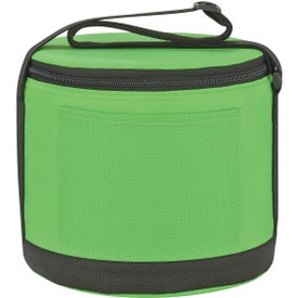 Personalized Round Insulated Non-Woven Kooler Bag