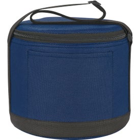Round Insulated Non-Woven Kooler Bag Branded with Your Logo