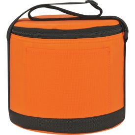Round Insulated Non-Woven Kooler Bag for Promotion