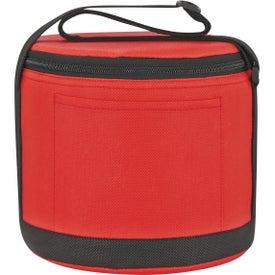 Imprinted Round Non-Woven Kooler Bag