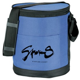Round Pop Up Insulated Cooler for Advertising