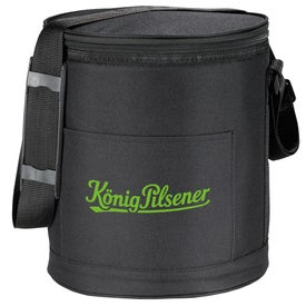 Monogrammed Round Pop Up Insulated Cooler