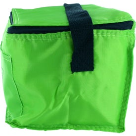 Logo Insulated 6 Pack Lunch Cooler