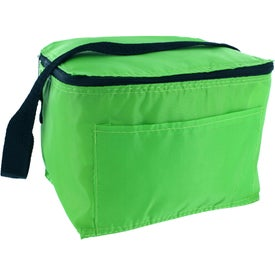 Insulated 6 Pack Lunch Cooler Imprinted with Your Logo