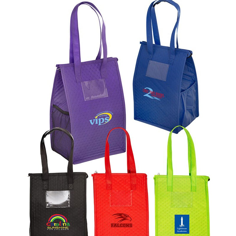 Promotional Snack Size Non-Woven Coolers with Custom Logo for  3.34 Ea. 9a72a8213b55b