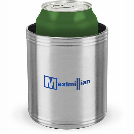 Stainless Steel Can Cooler ~ Stainless steel can cooler promotional coolers ea