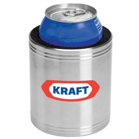 Stainless Steel Can Coolers with Your Logo