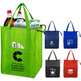 Super Cooler Large Insulated Cooler Tote Bag