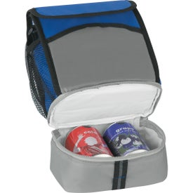 Super-Pack Lunch Kooler Imprinted with Your Logo