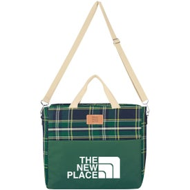 Tartan Hefty Cooler Tote Bag