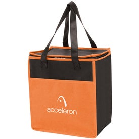 Tote-It-All Colorful Cooler Imprinted with Your Logo