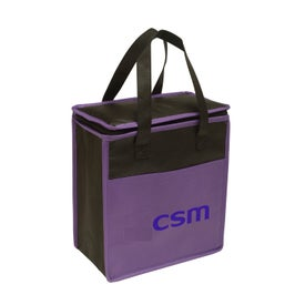 Transport Small Non-Woven Cooler Tote Branded with Your Logo