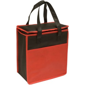 Transport Small Non-Woven Cooler Tote Giveaways
