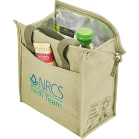Logo Trash Talking Recycled Lunch Cooler
