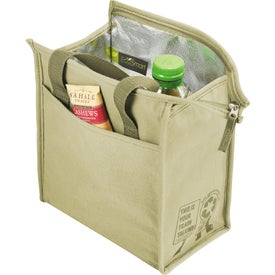Trash Talking Recycled Lunch Cooler