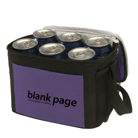 Trek 6-Pack Two-Tone Cooler for Promotion