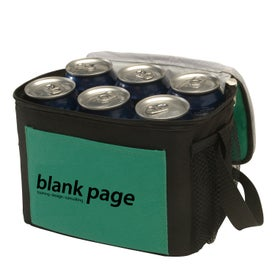 Trek 6-Pack Two-Tone Cooler Imprinted with Your Logo