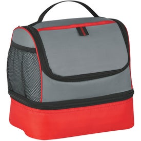 Two Compartment Lunch Pail Cooler Bag for Your Church