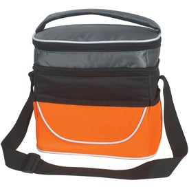 Personalized Two Compartment Lunch Bag