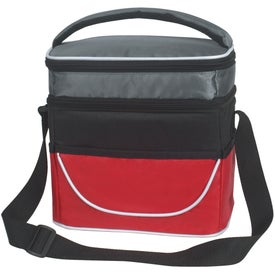 Two Compartment Lunch Bag for Advertising