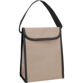 Company V Natural Kraft Lunch Bag
