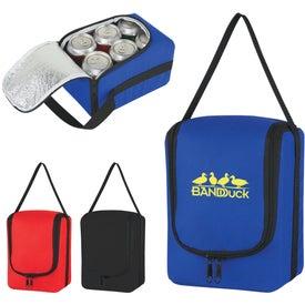 Custom Verve Six Pack Kooler Bag