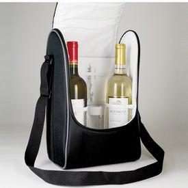 Vintner's Duet Wine Cooler with Your Slogan