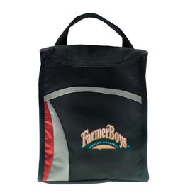 Wave Lunch Sack Imprinted with Your Logo