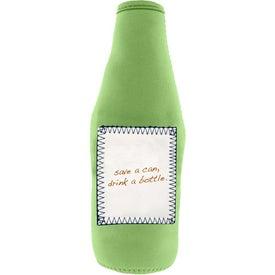 Imprinted Whiteboard Stubby Bottle Cooler