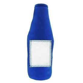 Monogrammed Whiteboard Stubby Bottle Cooler