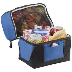 WorkZone Dual Compartment Lunch Cooler Imprinted with Your Logo
