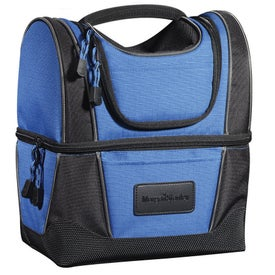 Printed WorkZone Dual Compartment Lunch Cooler