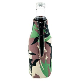 Zip Cool Bottle Cooler Imprinted with Your Logo