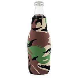 Custom Zip Cool Bottle Cooler