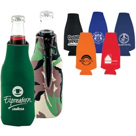 Zip Cool Bottle Cooler Branded with Your Logo