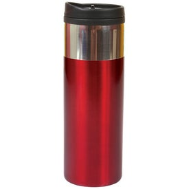 Chrome Band Tumbler (14 Oz.)