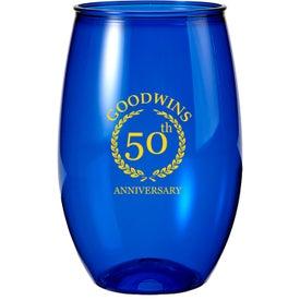 Recyclable Stemless Wine Glass (16 Oz.)